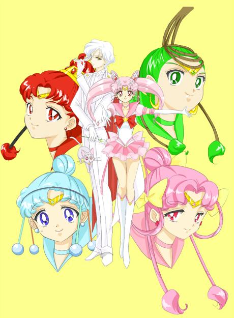 Tags: Anime, Kuma-hacchi, Bishoujo Senshi Sailor Moon, Palla Palla, Chibiusa, Ves Ves, Sailor Juno, Jun Jun, Diana (Sailor Moon), Sailor Pallas, Helios, Sailor Ceres, Cere Cere, Pretty Guardian Sailor Moon