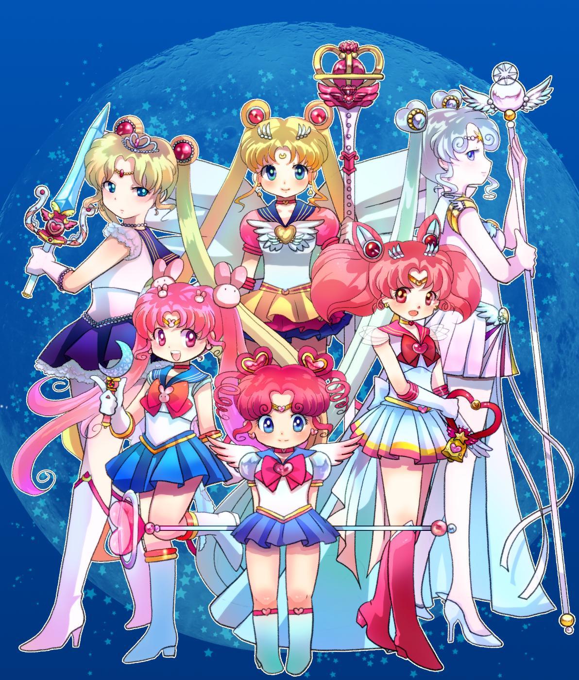 Tags Anime Mammypoko Bishoujo Senshi Sailor Moon Chibi