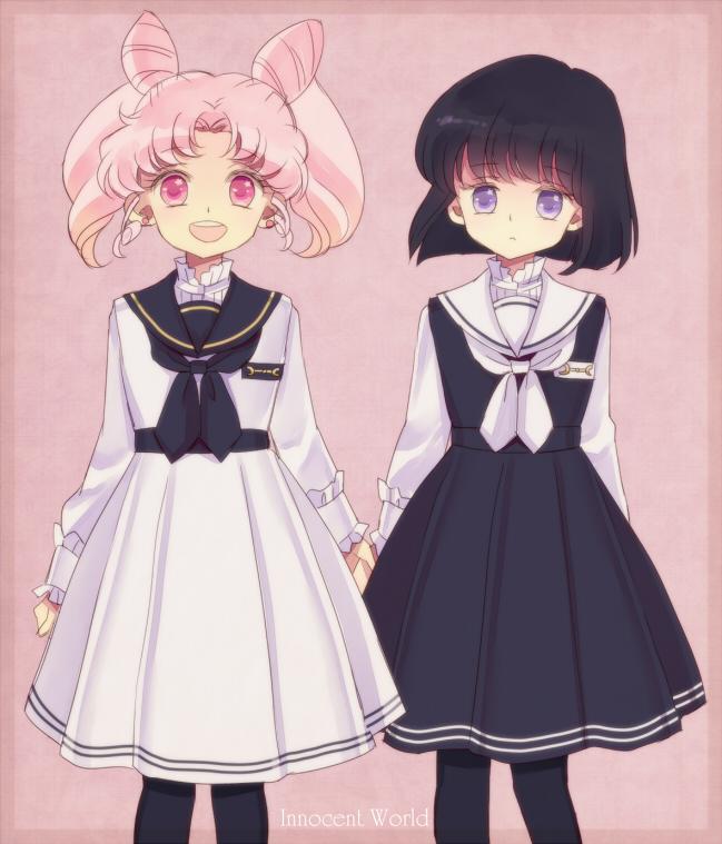 Tags: Anime, Saki Kunkatan, Bishoujo Senshi Sailor Moon, Chibiusa, Tomoe Hotaru, Fanart, Pixiv, Fanart From Pixiv, Pretty Guardian Sailor Moon