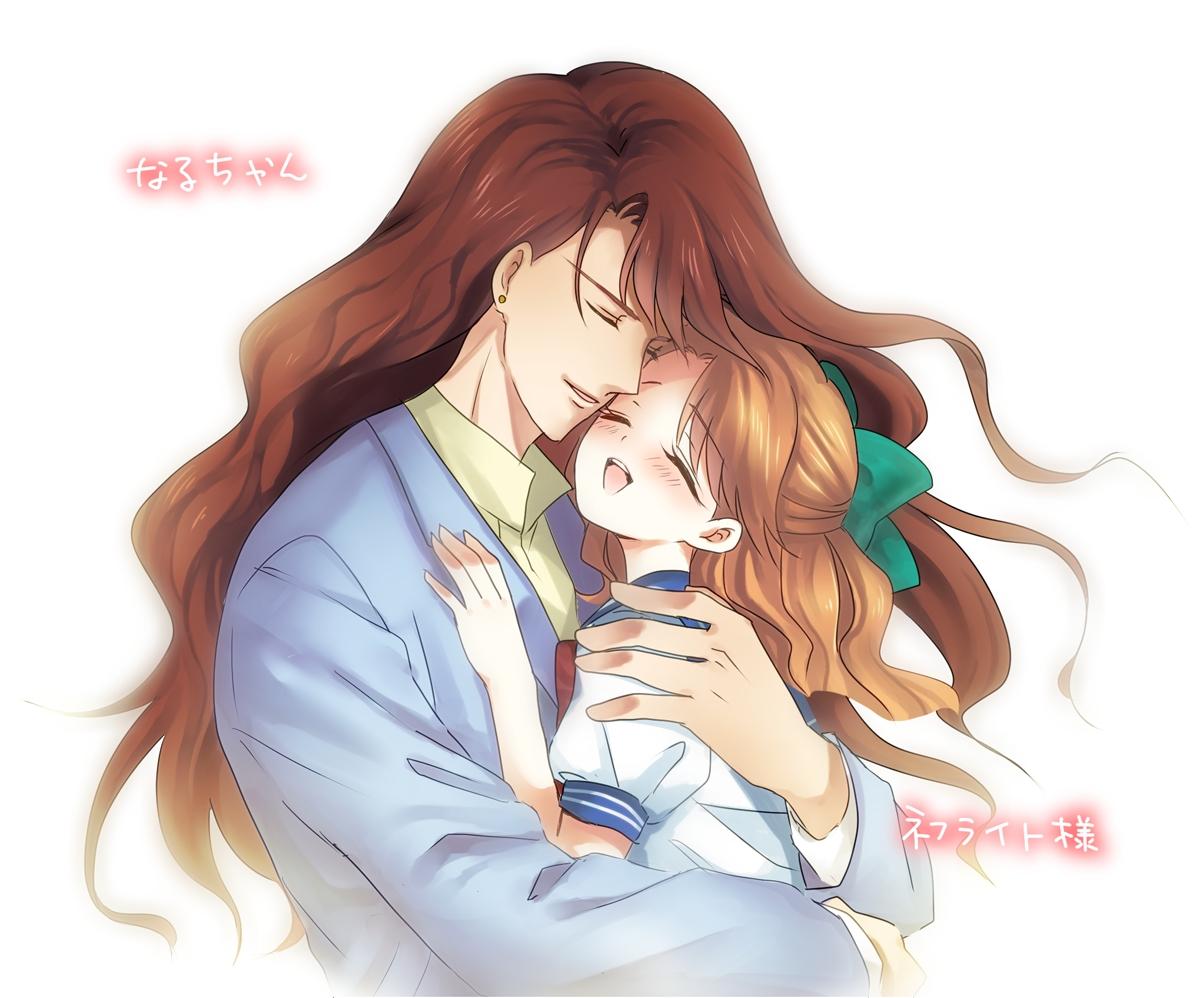 Sailor Jupiter And Nephrite Nephrite - Bishoujo Se...