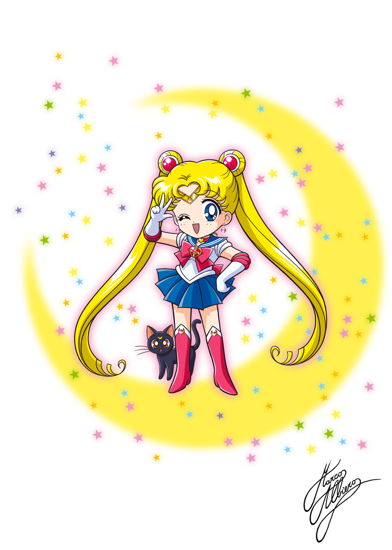 how to make a sailor moon monopoly board
