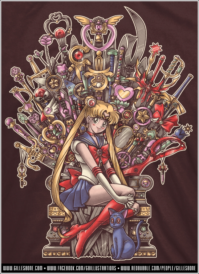Tags: Anime, Gbillustrations, Bishoujo Senshi Sailor Moon, Sailor Moon (Character), Luna (Sailor Moon), Tsukino Usagi, Space Sword, Crystal Star, Garnet Orb, Moon Stick, Glaive, Deep Aqua Mirror, Silence Glaive, Pretty Guardian Sailor Moon