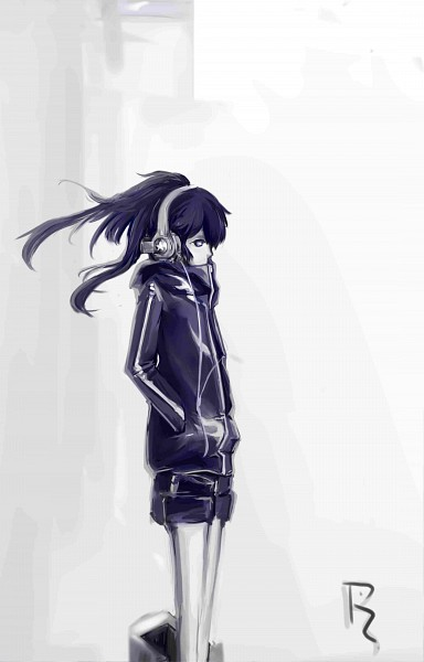 Tags: Anime, Black★Rock Shooter, Black★Rock Shooter (Character), Hand In Pocket