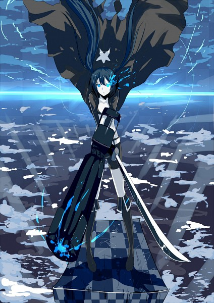 Tags: Anime, Fanart, Black★Rock Shooter, Pixiv, Black★Rock Shooter (Character)