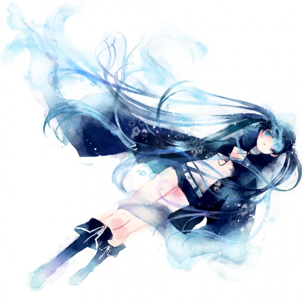 Tags: Anime, Yoshida Yoshitsugi, Black★Rock Shooter, Black★Rock Shooter (Character), Bikini Top