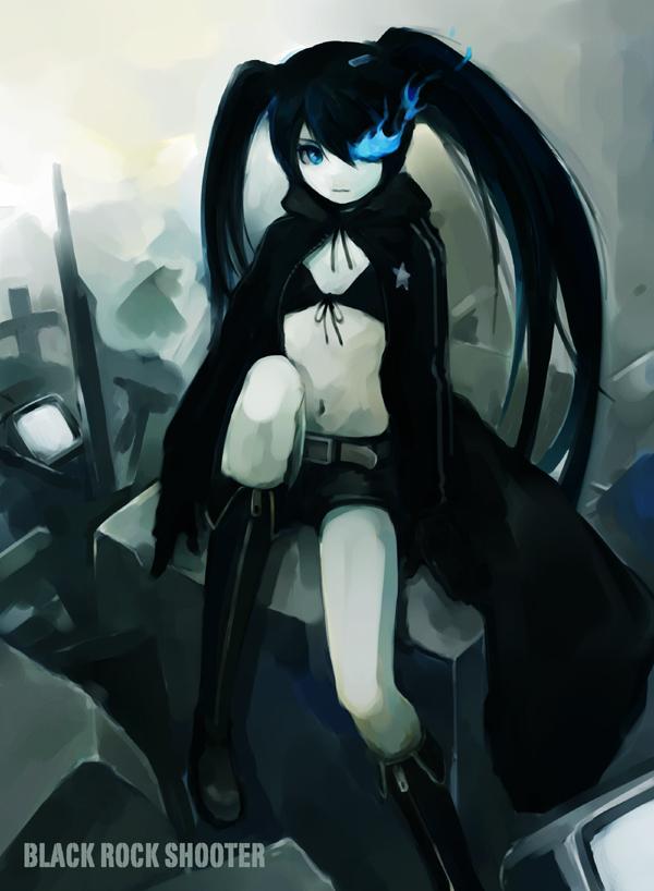 Tags: Anime, Hironox, Black★Rock Shooter, Black★Rock Shooter (Character)