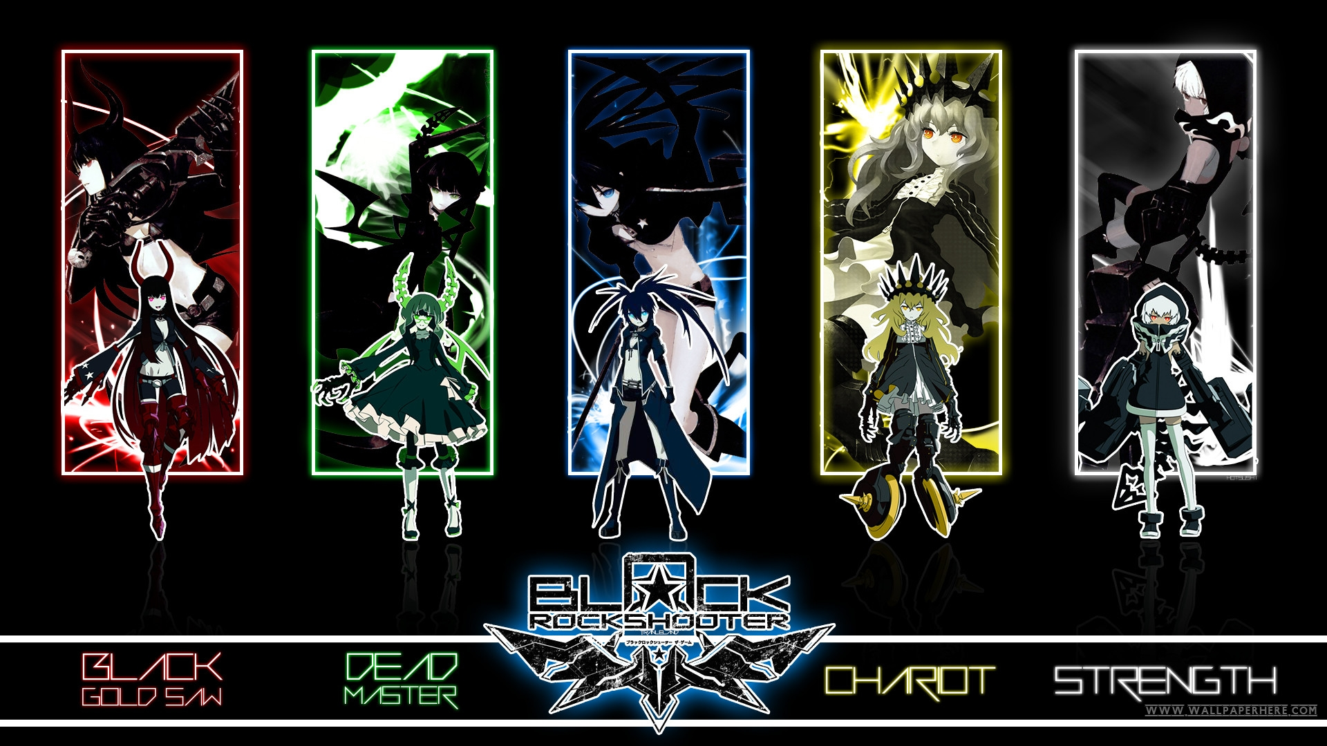 black☆rock shooter - huke - hd wallpaper #1499545 - zerochan anime