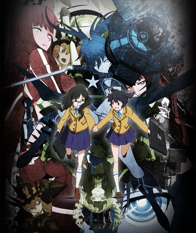 Manga Black Rock Shooter: Zerochan Anime Image Board