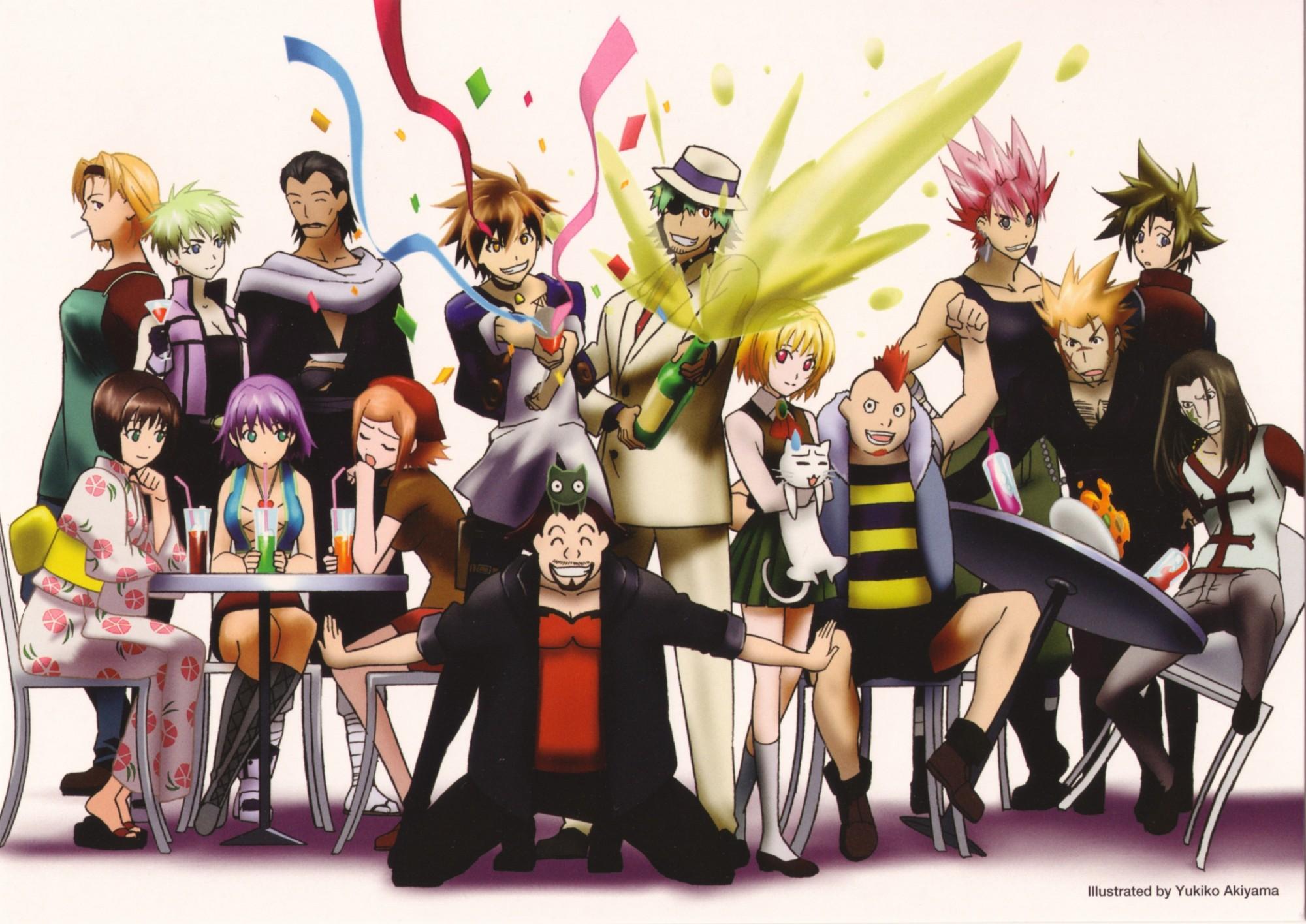 Black Cat Series Yabuki Kentarou Zerochan Anime Image Board