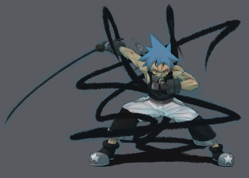 Black Star Soul Eater Zerochan Anime Image Board