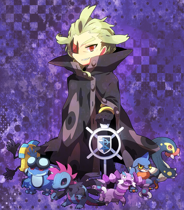 Tags: Anime, Shooting-star21, Black and White 2, Pokémon, Drapion, Seismitoad, Eelektross, Hydreigon, G-Cis Harmonia, Cofagrigus, Toxicroak, Pixiv, Fanart