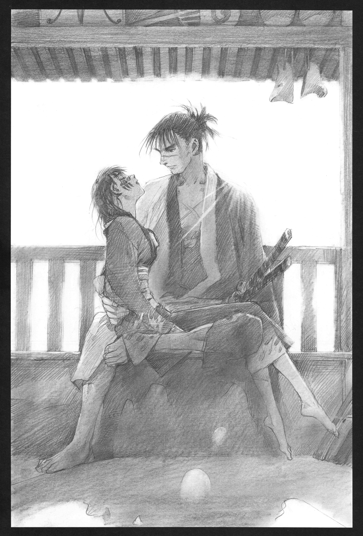 Manji (character) blade of the immortal zerochan anime image board.