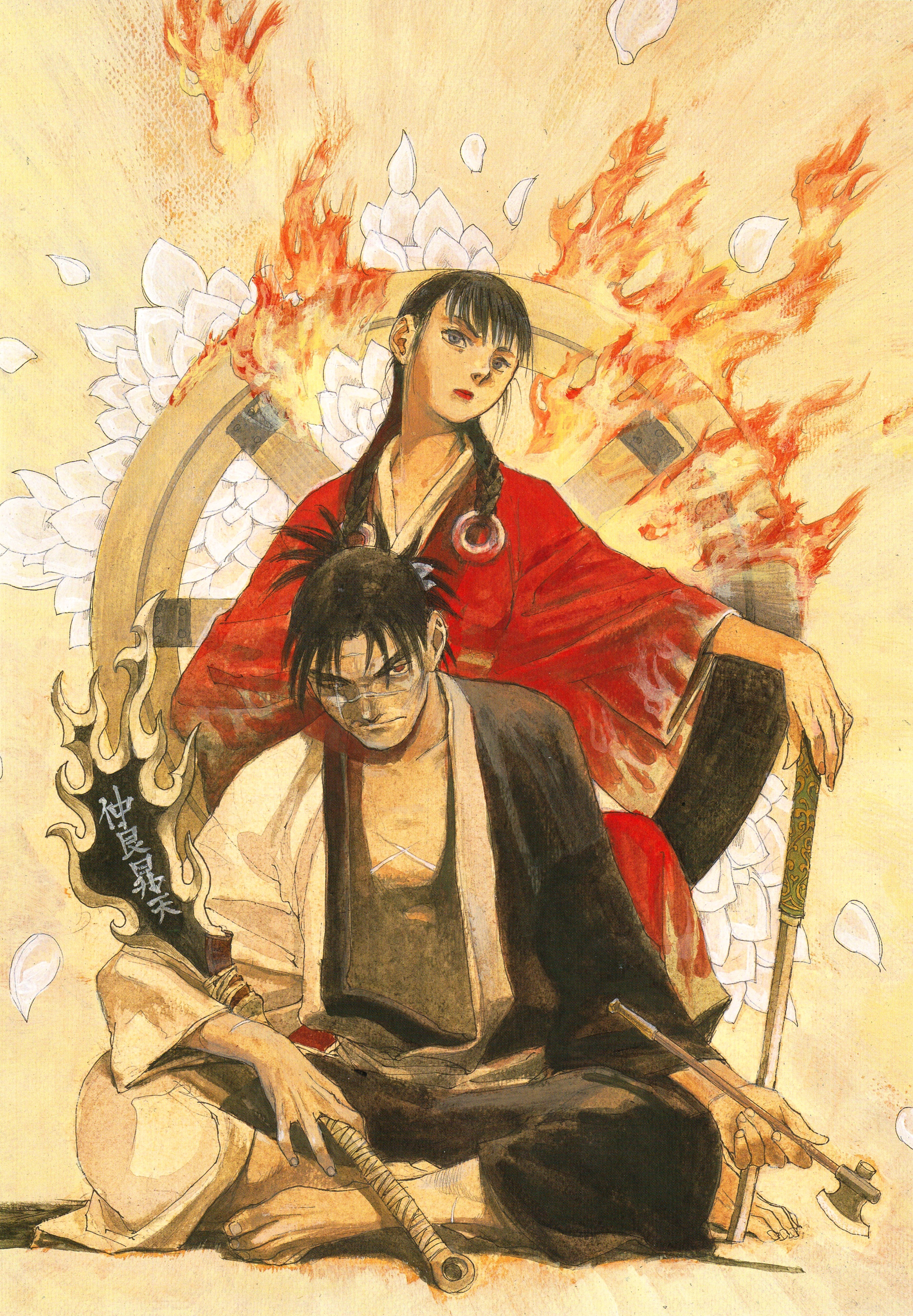 Asano Rin Blade Of The Immortal Zerochan Anime Image Board