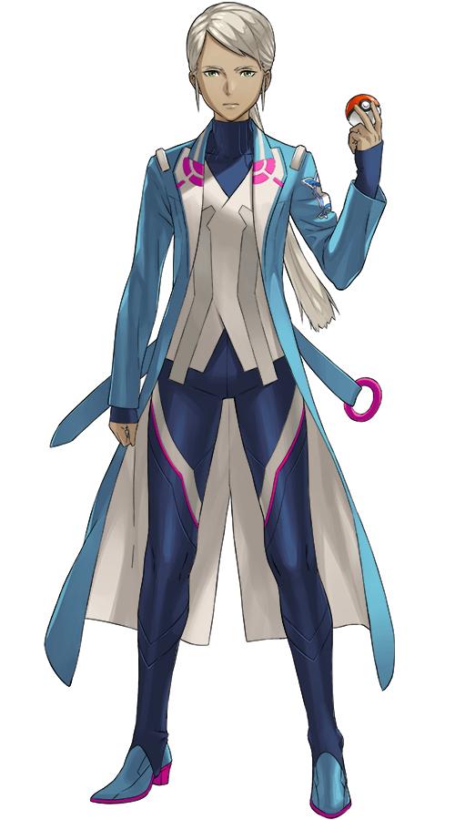 Tags: Anime, Kozaki Yuusuke, NIANTIC, Pokémon GO, Pokémon, Blanche (Pokémon GO), Cover Image, PNG Conversion, Mobile Wallpaper, Official Art