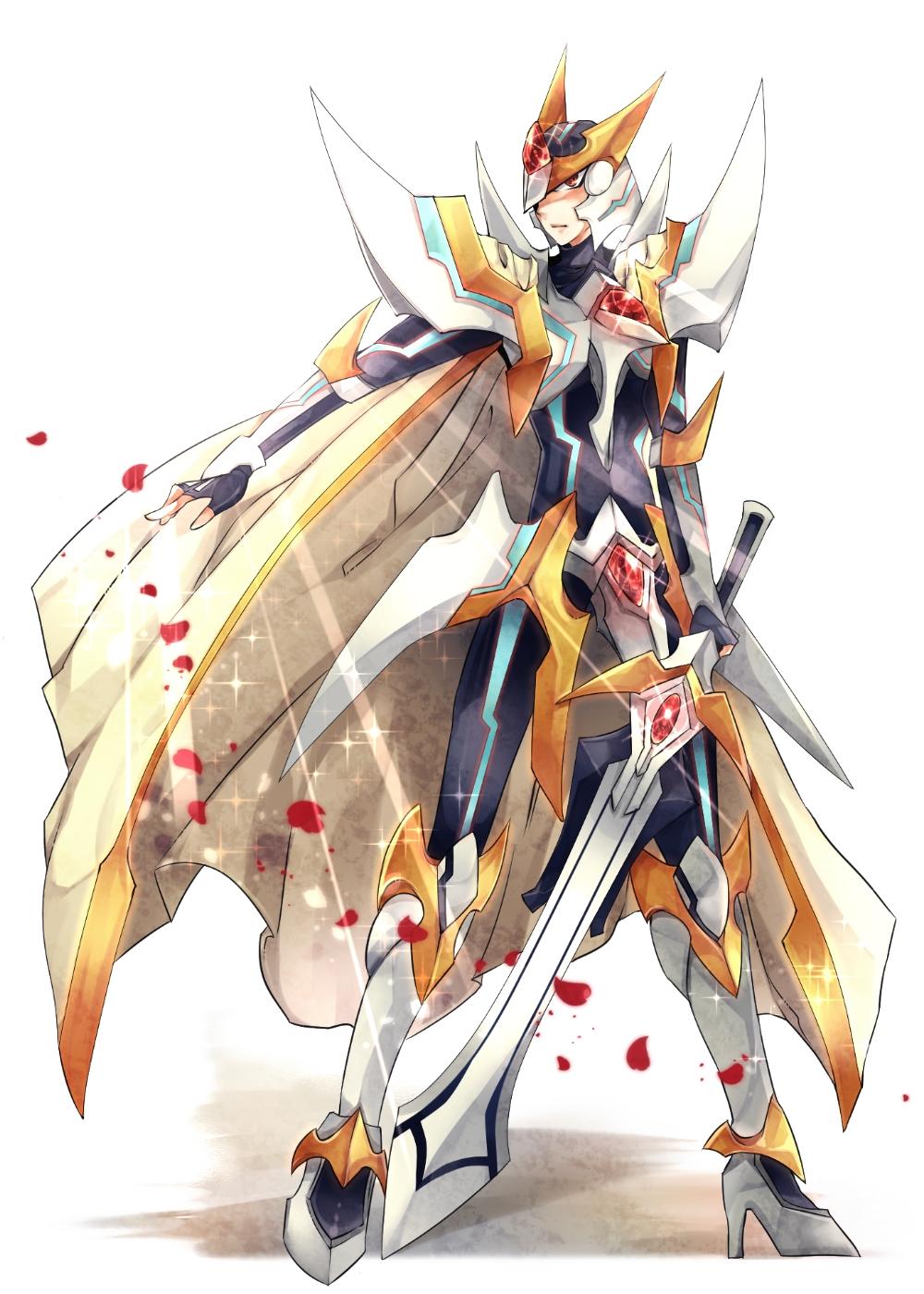 Blaster Blade Liberator - Gold Paladin - Zerochan Anime ...
