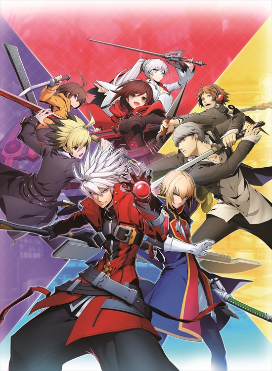 Tags: Anime, Higuchi Konomi, Arc System Works, RWBY, Blazblue: Cross Tag Battle, Under Night In-Birth, BlazBlue, Shin Megami Tensei: PERSONA 4, Ruby Rose, Narukami Yu, Hanamura Yousuke, Linne (Under Night In-Birth), Ragna the Bloodedge