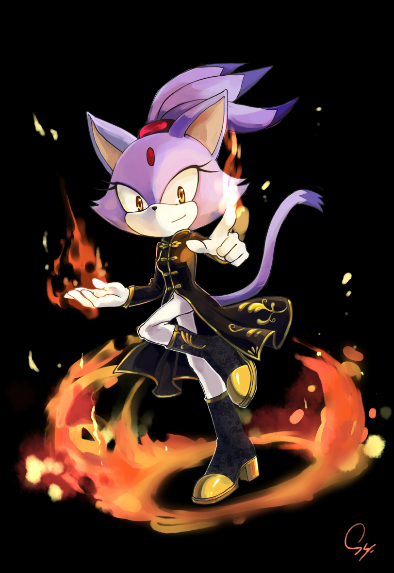 Blaze The Cat Sonic Rush Adventure Mobile Wallpaper 1615763