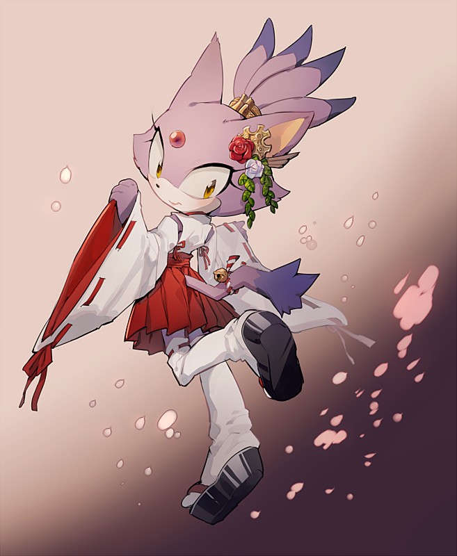 Blaze The Cat And Silver The Hedgehog Wedding