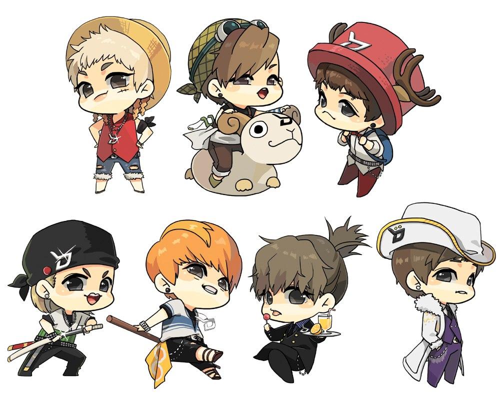 Big O Anime Characters : Block b k pop image zerochan anime board
