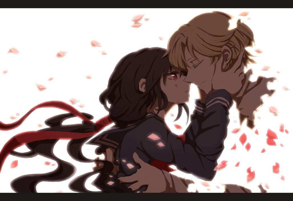 Tags Anime Pixiv Id 1393834 Blood C Kisaragi Saya Nanahara