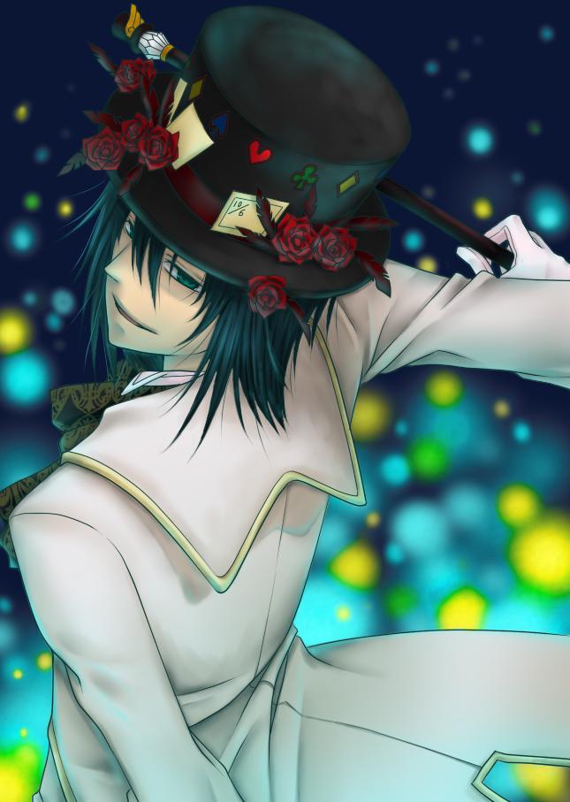 Tags: Anime, Heart no Kuni no Alice, Blood Dupre, Mobile Wallpaper