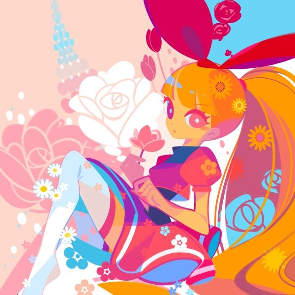Tags: Anime, Mintchoco, Power Puff Girls, Cartoon Network - Universe: Fusion Fall, Blossom (PPG), deviantART, Fanart, Fanart From DeviantART
