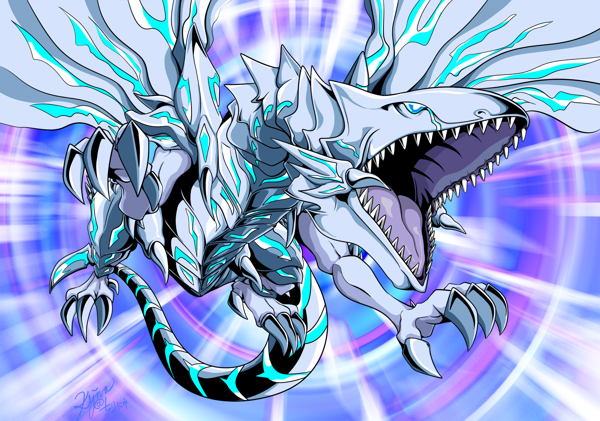 blue eyes alternative white dragon yu gi oh the dark side of