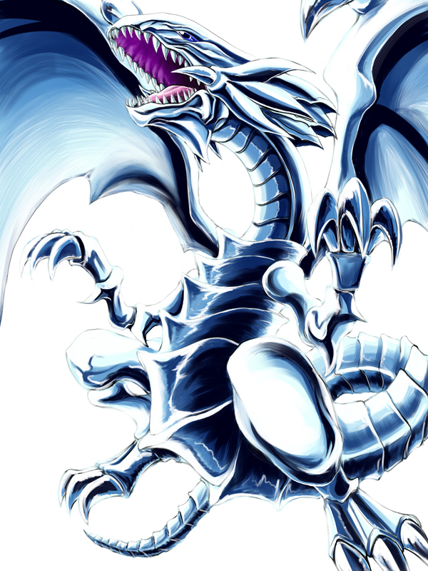 Blue Eyes White Dragon Yu Gi Oh Duel Monsters Image 1418485