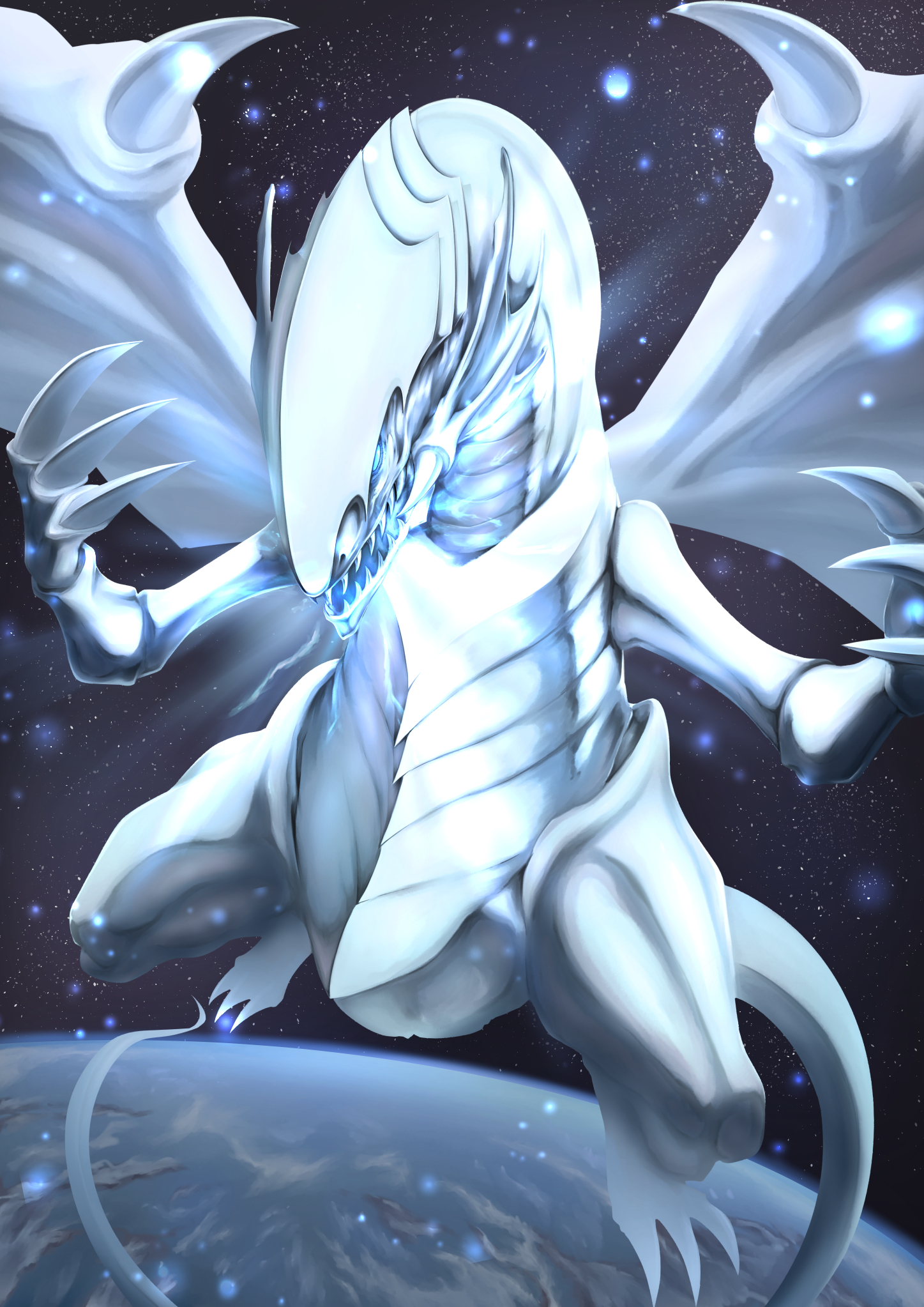 Blue Eyes White Dragon Yu Gi Oh Duel Monsters Mobile