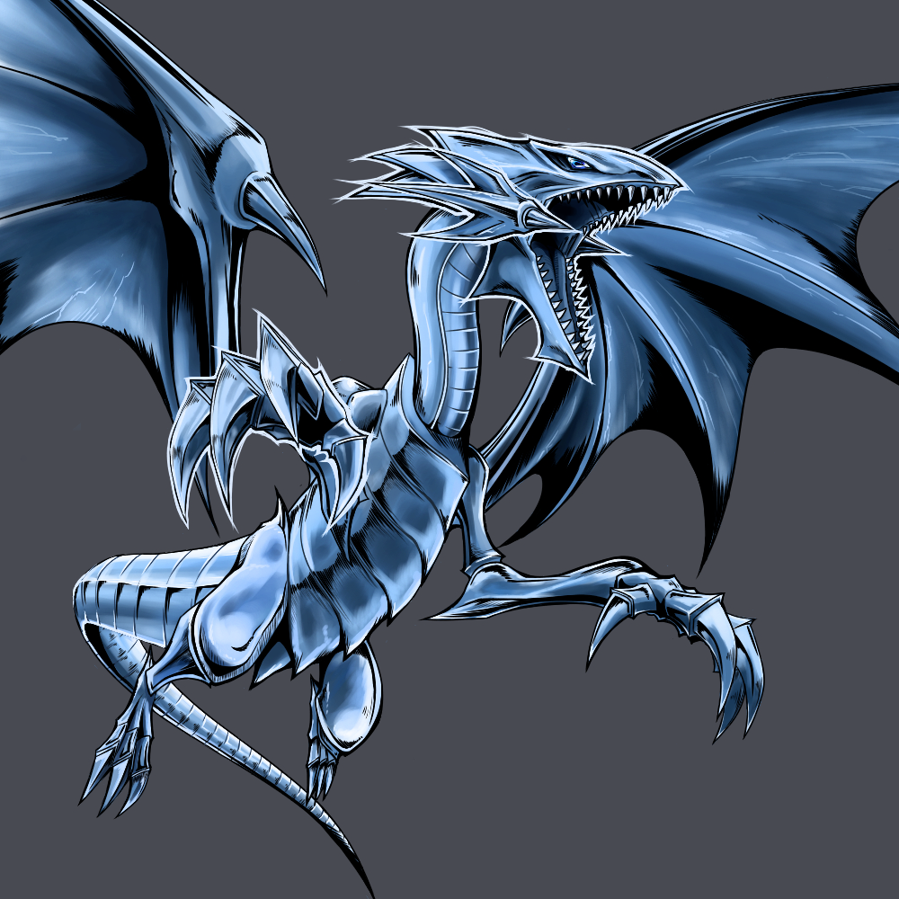 blue eyes white dragon yu gi oh duel monsters image 2088962