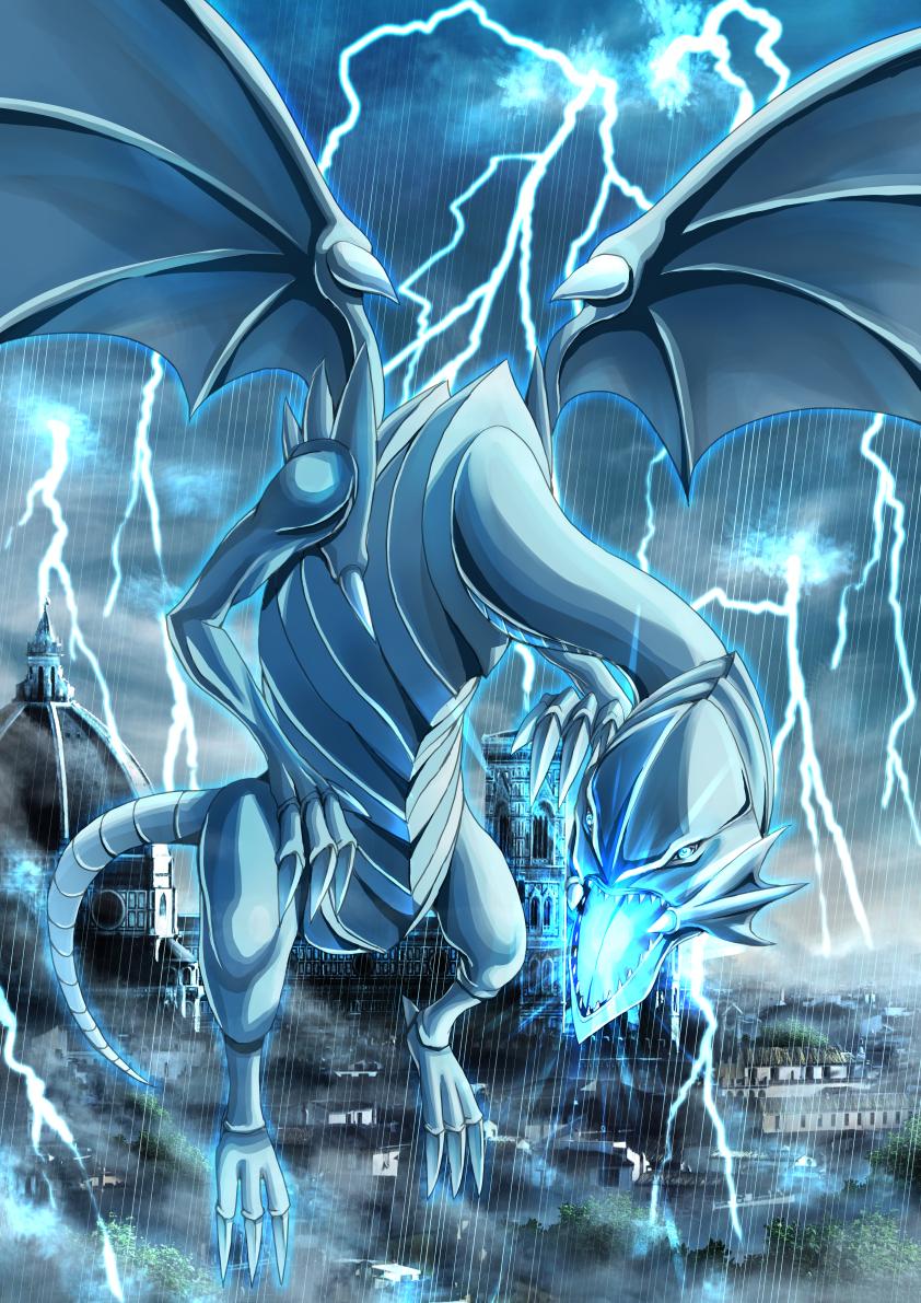 Blue-Eyes White Dragon - Yu-Gi-Oh! Duel Monsters ...