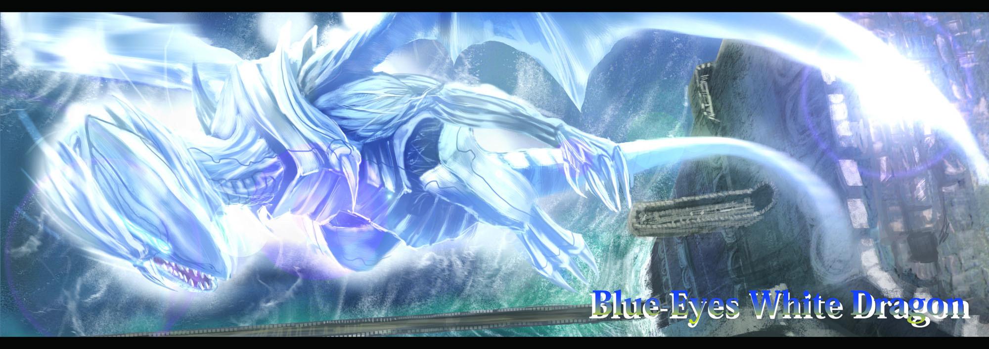 blue eyes white dragon yu gi oh duel monsters image 670369