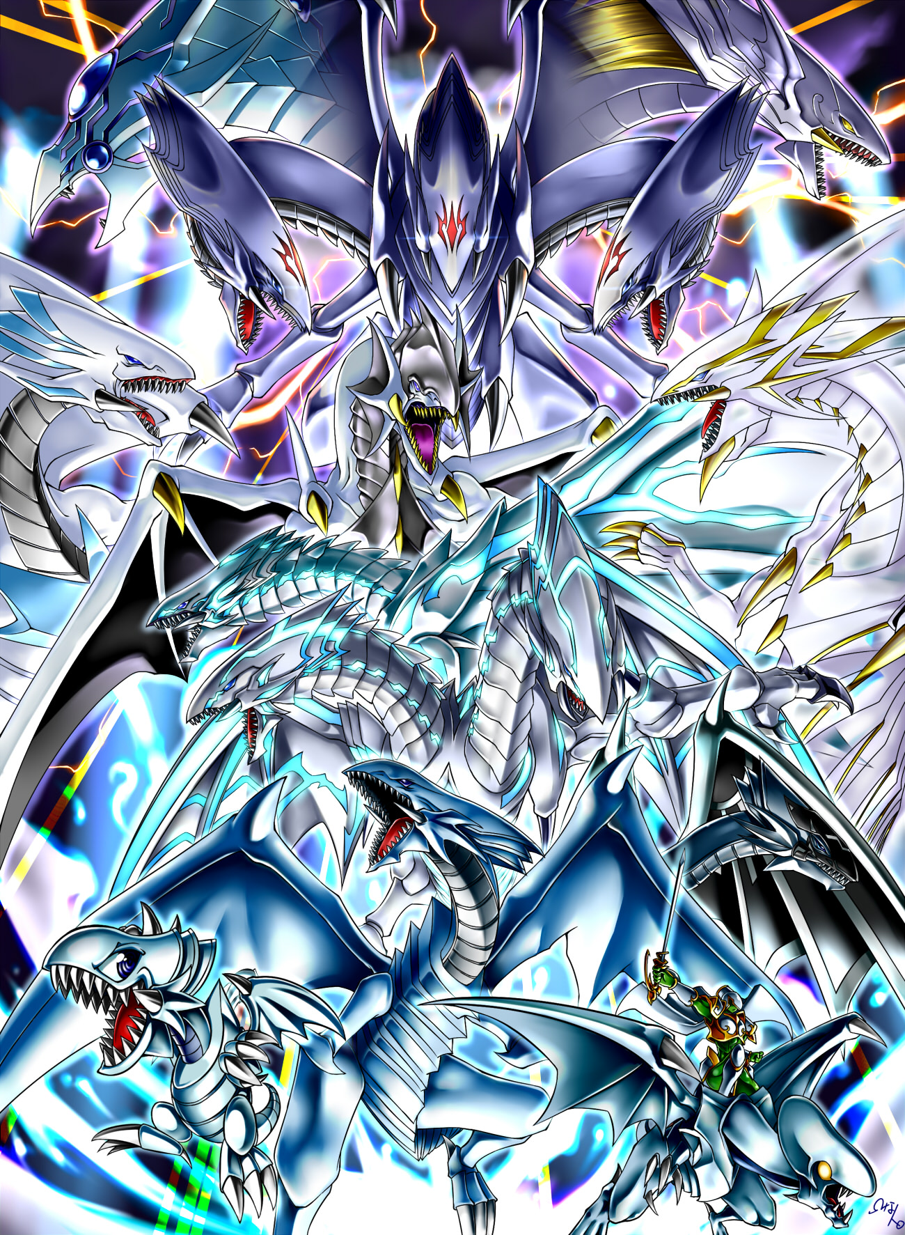 Blue-Eyes - Yu-Gi-Oh! - Mobile Wallpaper #1959992 ...