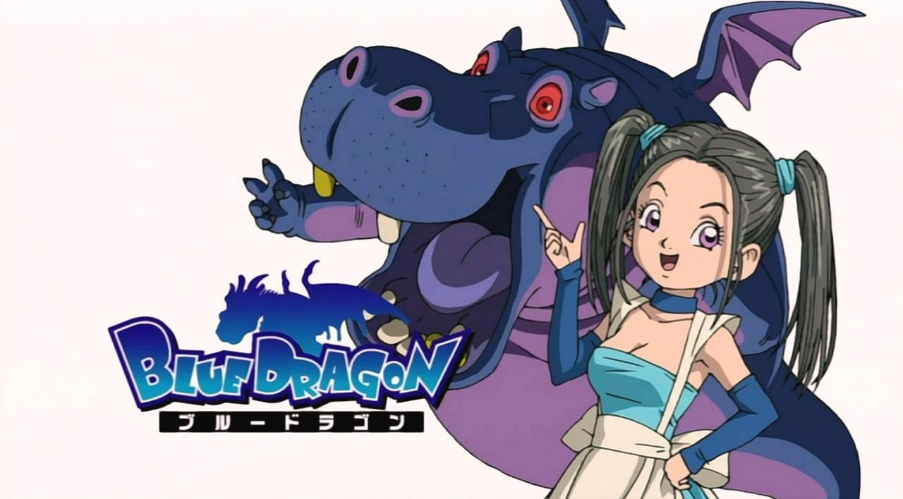 Blue dragon anime characters