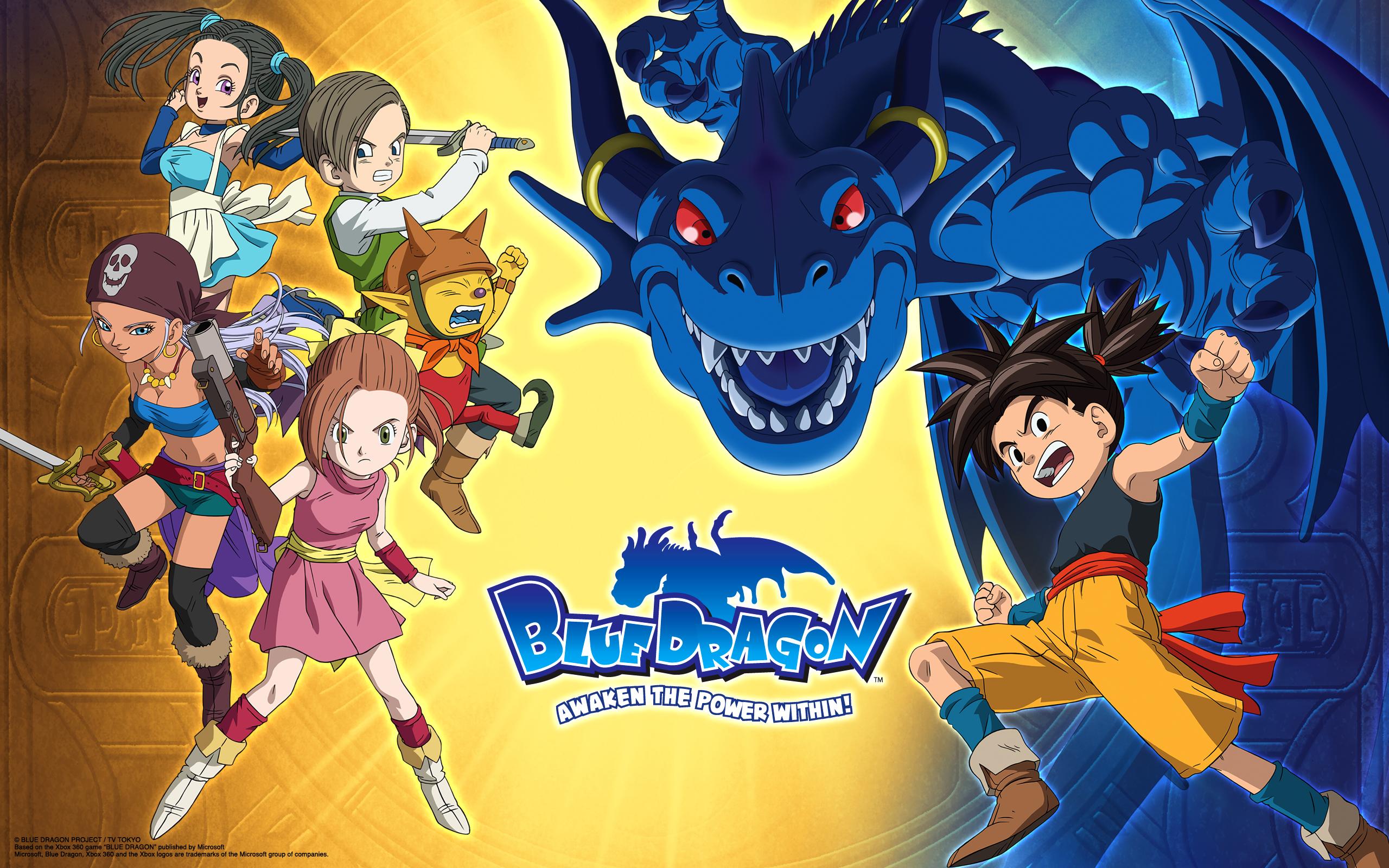 Blue Dragon Tenkai No Shichi Ryu Zerochan Anime Image Board
