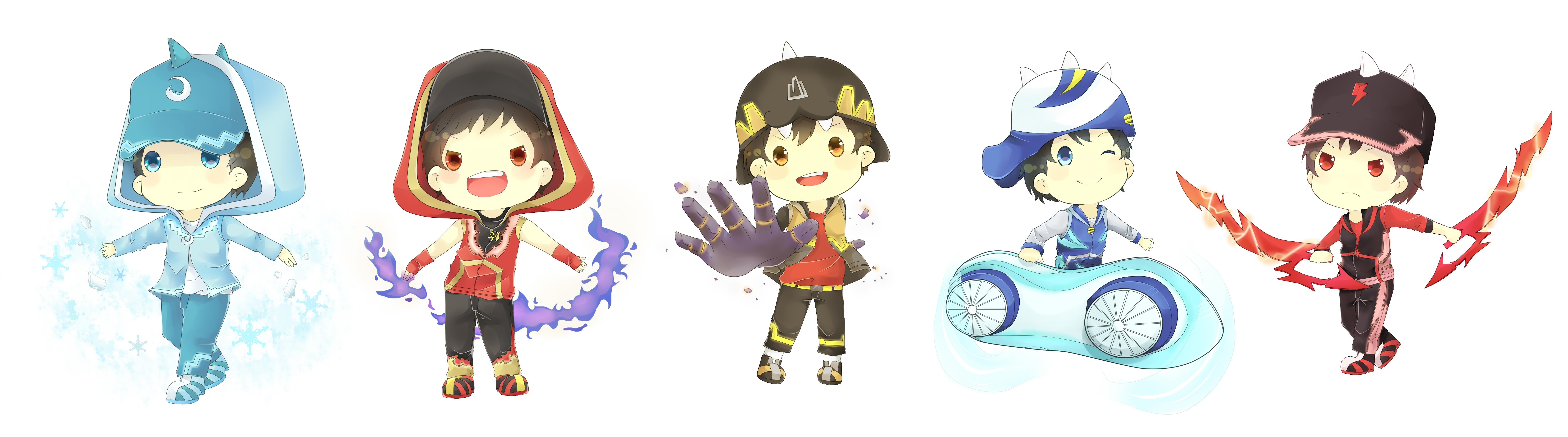 Boboiboy Zerochan Anime Image Board