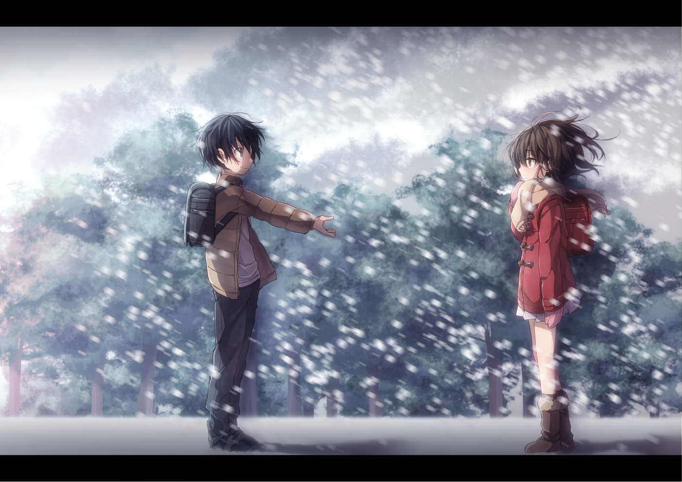 Anime Wallpapers Boku Dake Ga Inai Machi HD 4K Download For Mobile iPhone & PC