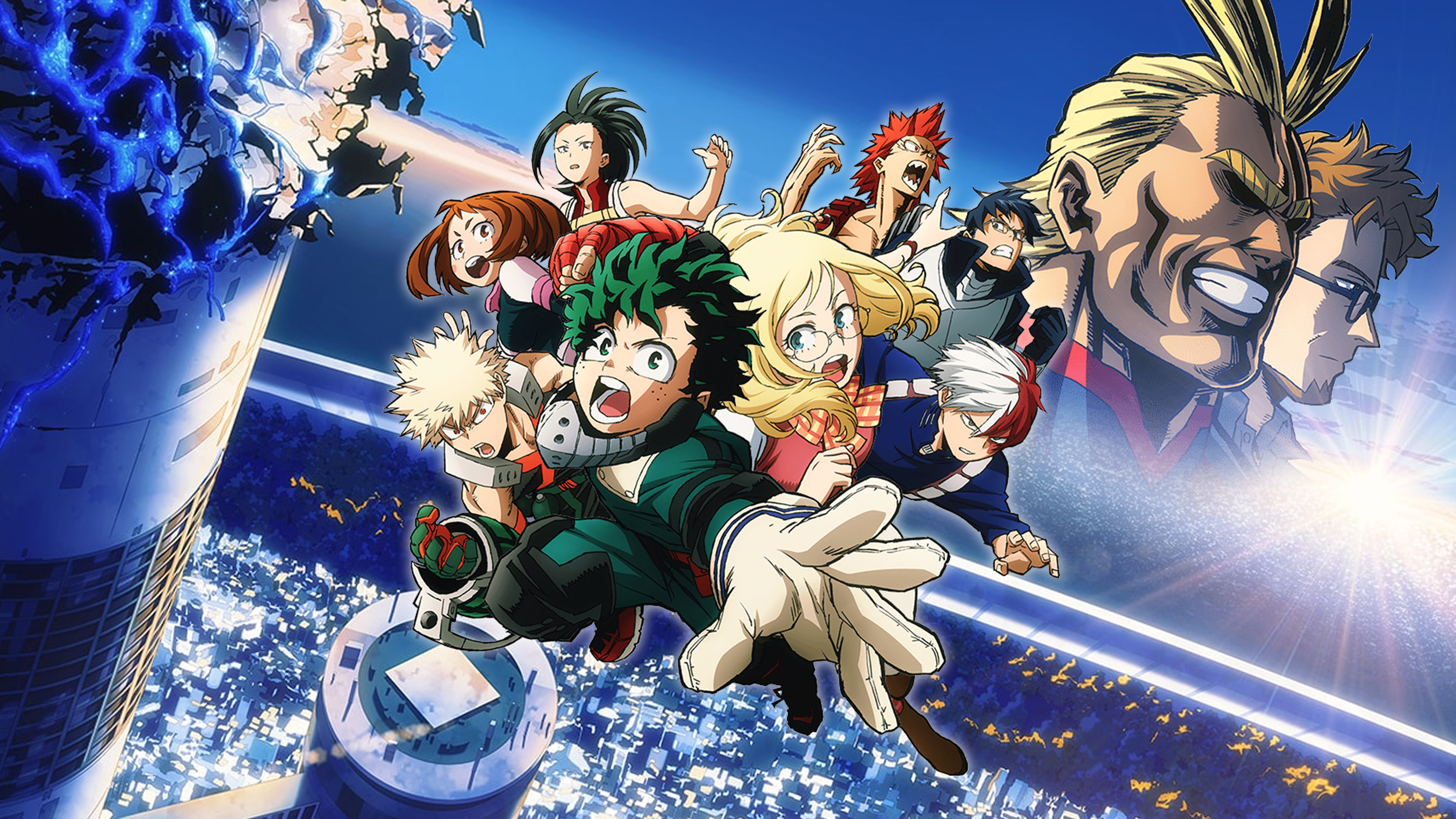 Boku No Hero Academia The Movie Futari No Hero My Hero Academia