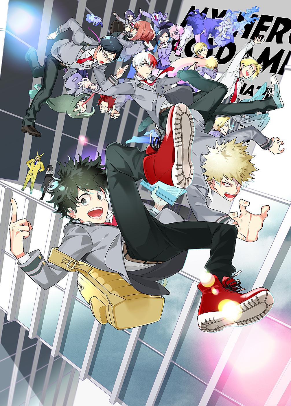 Kaminari Denki Mobile Wallpaper Zerochan Anime Image Board