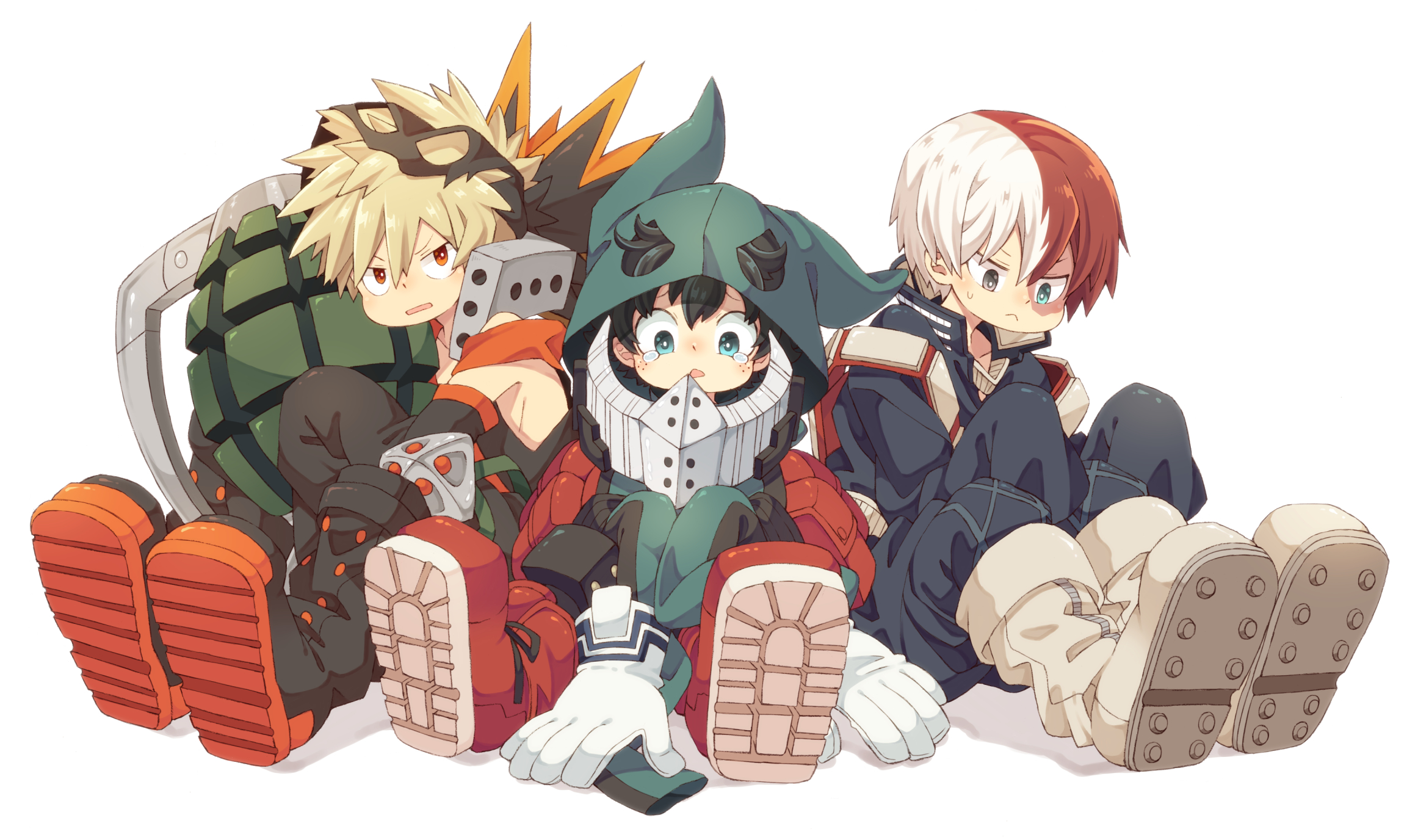 Todoroki Shouto Wallpaper Zerochan Anime Image Board