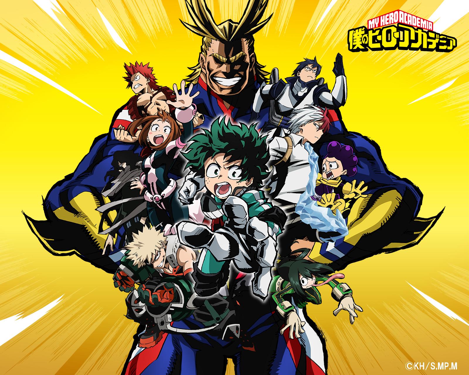 Boku No Hero Academia My Hero Academia Wallpaper 2141447