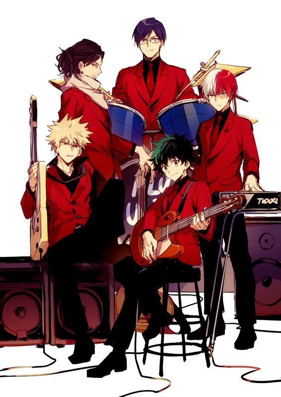 Tags: Anime, hegi, Boku no Hero Academia, Iida Tenya, Todoroki Shouto, Aizawa Shouta, Bakugou Katsuki, Midoriya Izuku, Red Coat, Fanart From Pixiv, Pixiv, Fanart, My Hero Academia