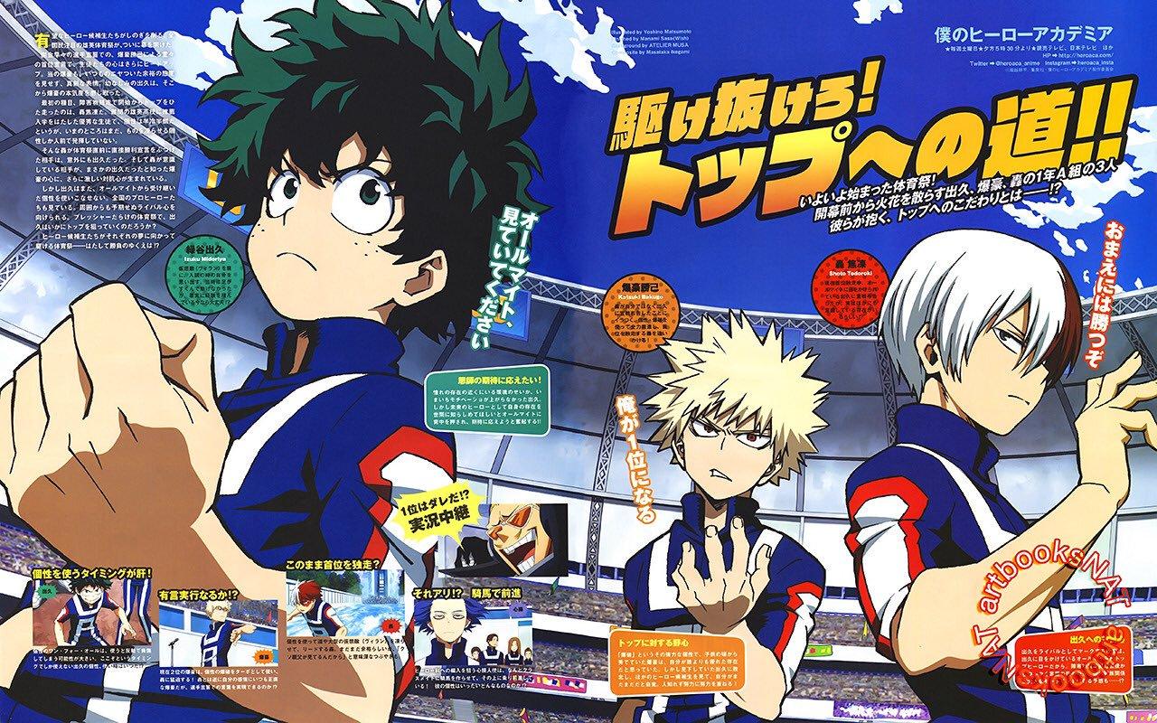 Boku no Hero Academia (My Hero Academia), Official Art ...