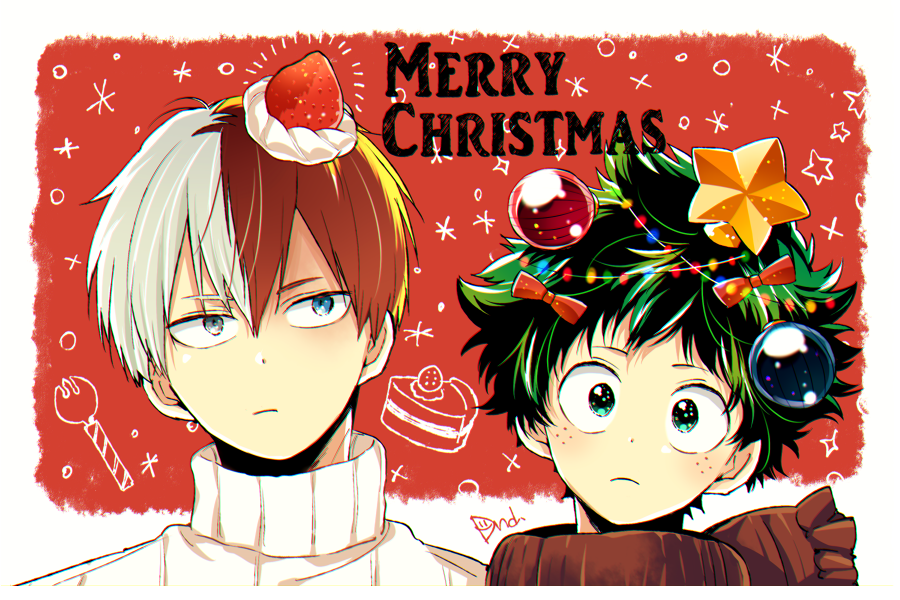 Anime Christmas Wallpaper Bnha