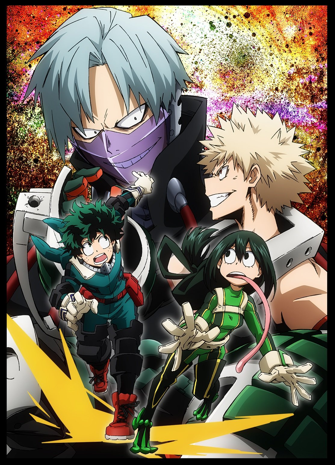 Burning Series Boku No Hero Academia