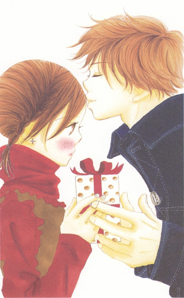 Tags: Anime, Bokura ga Ita, Motoharu Yano, Nanami Takahashi, Gift, Kiss on the Forehead