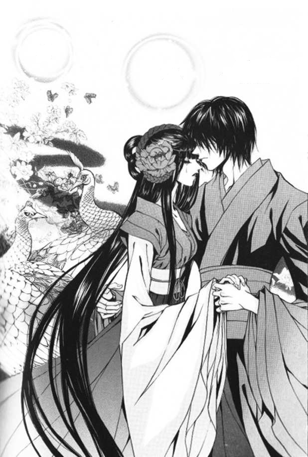 Tags: Anime, Yun Mi-kyung, Soah, Habaek, Scan, Official Art, Mobile Wallpaper, Manga Page, Small Manga Page, The Bride Of The Water God