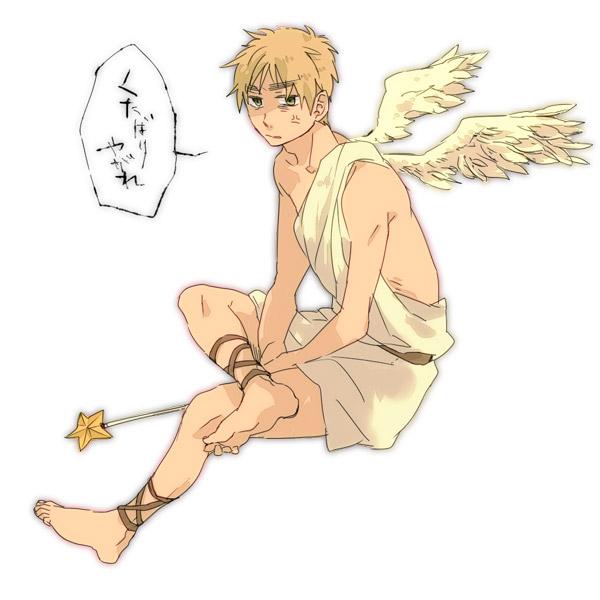 Tags: Anime, Axis Powers: Hetalia, United Kingdom, Britannia Angel, Artist Request