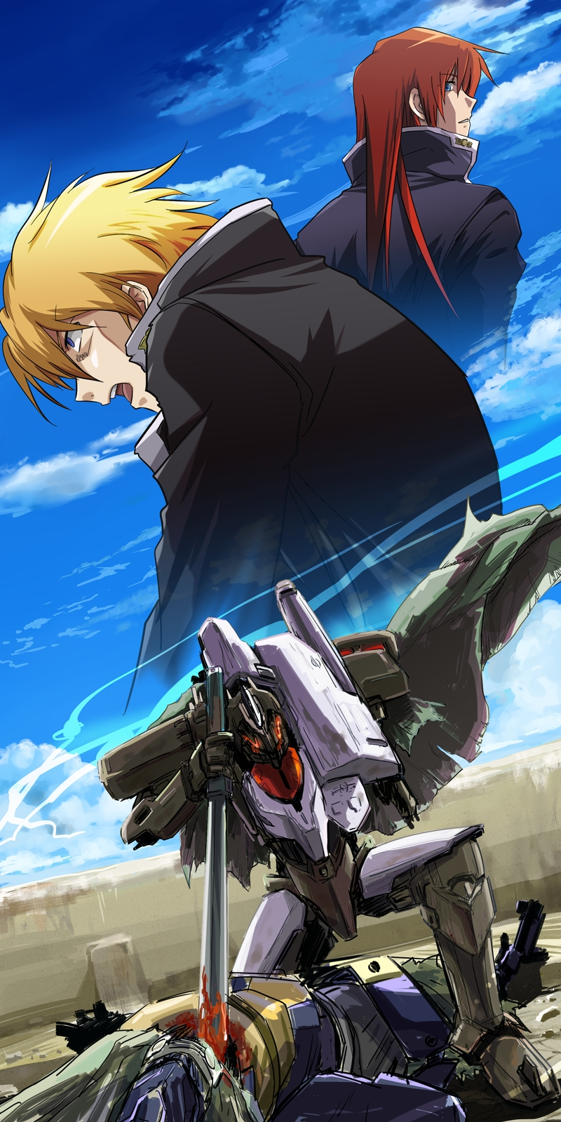 Free download anime break blade