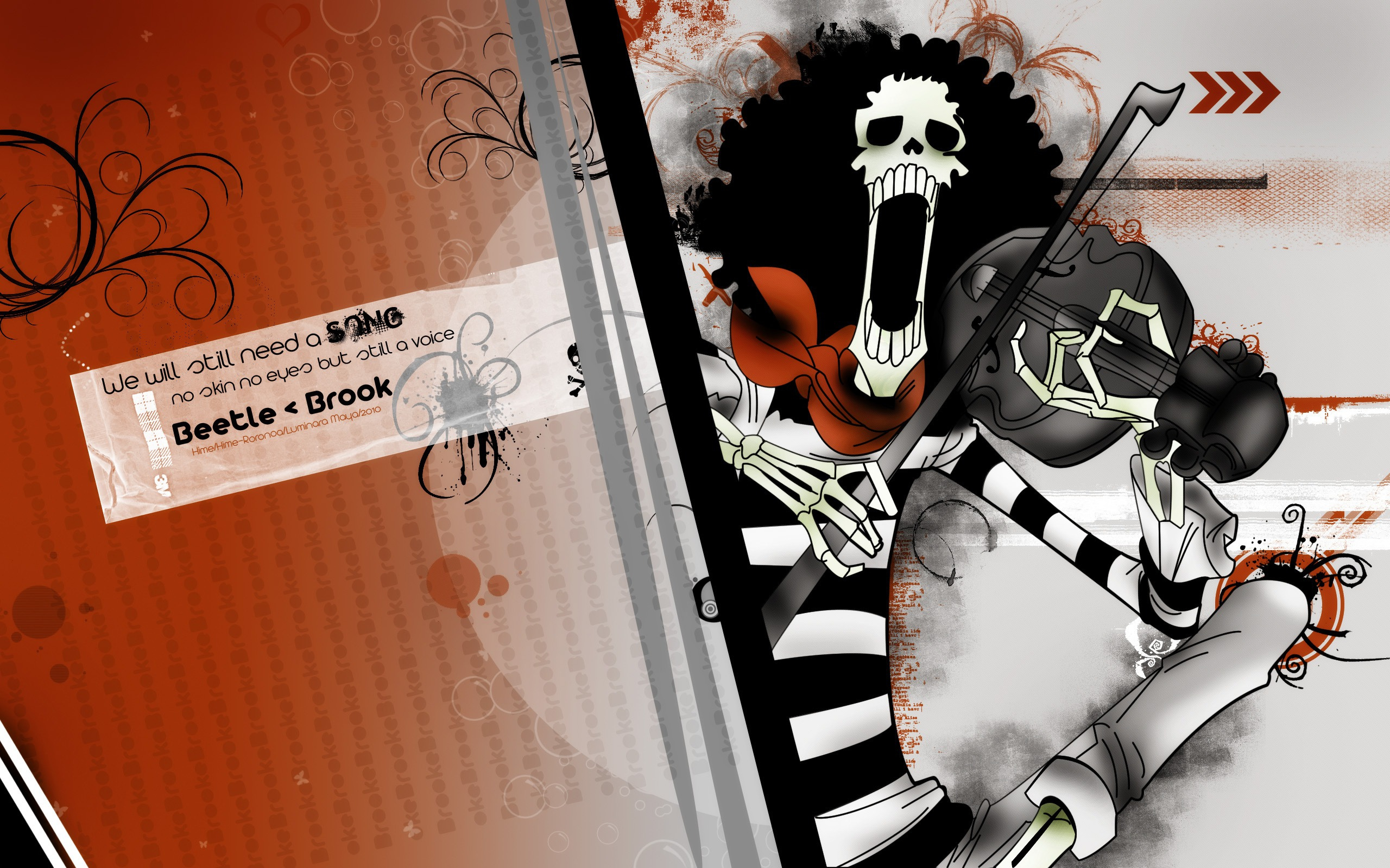 Brook One Piece Hd Wallpaper 638919 Zerochan Anime Image Board